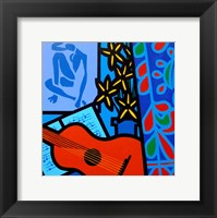 Still Life With Matisse 2 Framed Print