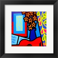 Still Life With Matisses Verve Framed Print