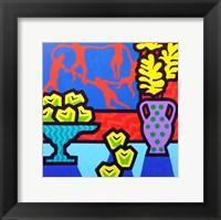 Still Life With Matisse Framed Print