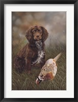 Framed Cocker Spaniel Tia