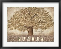 Framed Our Family Tree