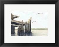 Framed Dock On The Bay