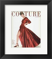 Framed Couture December 1954