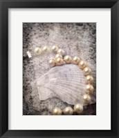 Framed Vintage Pearls
