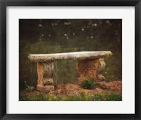 Framed Waterside Bench