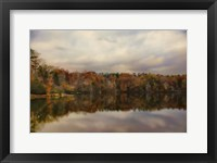 Autumn At Lake LaJoie 1 Framed Print