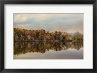 Autumn At Lake LaJoie 2 Framed Print