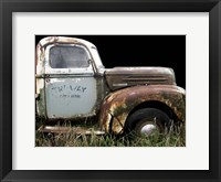 Framed 1947 Ford 1 Ton