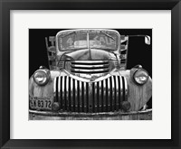 Framed Chev 4 Sale - Black and White