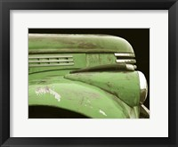 Framed Chevy Streamline - Apple Green
