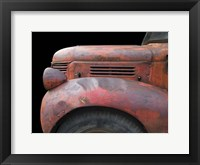 Fargo Red Framed Print