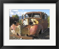 Framed Old Wine Truck
