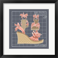Framed Galaxy Shoes - Espadrille Coral Dot