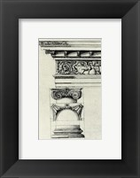 Anonymous - English Architectural IV Framed Print