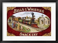 Framed Bells & Whistles Train