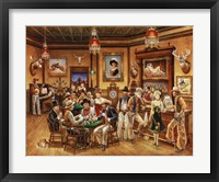 Framed Western Saloon