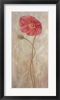 Poppies IV Framed Print
