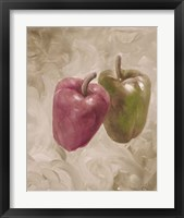 Sweet Peppers III Framed Print