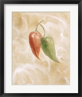 Hot Peppers II Framed Print