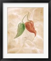Hot Peppers III Framed Print