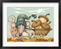 Barrow Mouse Framed Print