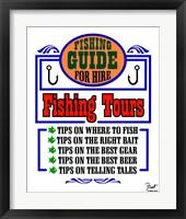 Framed Fishing Tours