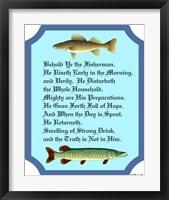 Framed Behold Ye The Fisherman