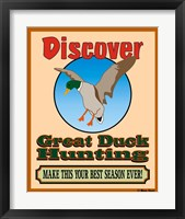 Framed Discover Duck Hunting