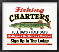 Framed Fishing Charters