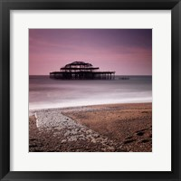 Framed Brighton Pier