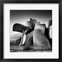 Framed Guggenheim Bilbao