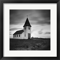 Iceland Hellnar Church Framed Print