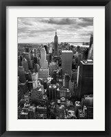 NYC Downtown II Framed Print