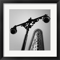 NYC Flat Iron Framed Print
