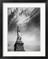 NYC Miss Liberty Framed Print