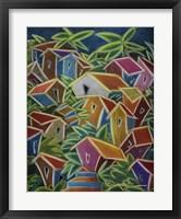 Framed Barrio Lindo