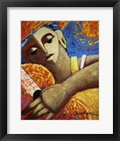Jibara & Sol Framed Print