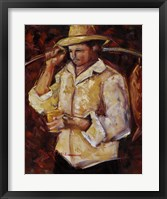 Framed Jibaro De La Costa