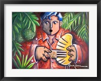 Musician II Framed Print