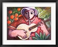 Musician III Framed Print