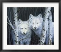 Framed White Magic
