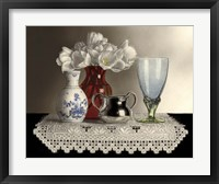 Framed Still Life With Hardanger