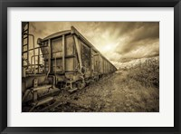 Framed Lost Train