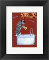 Framed Schnauzer Bath Salts
