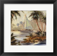 Framed Palm Cove Two