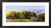 Framed Cades Cove Barn