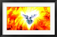 Framed Holy Spirit Fire
