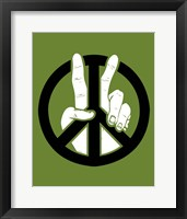 Framed Peace to the 2nd Power