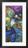 Cat Dreaming Framed Print