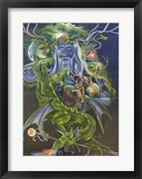 Framed Odin